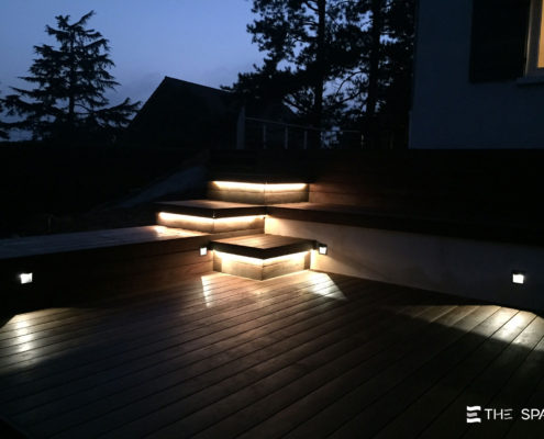 Eclairage espace terrasse